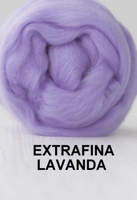 lana extrafina -LAVANDA-50g