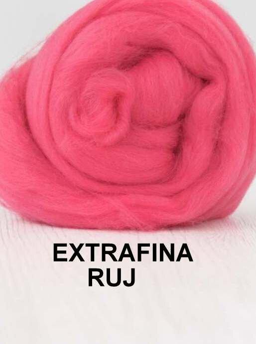 lana extrafina -RUJ-50g