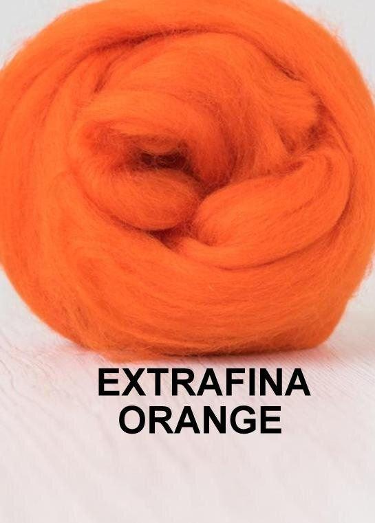 lana extrafina -ORANGE-50g