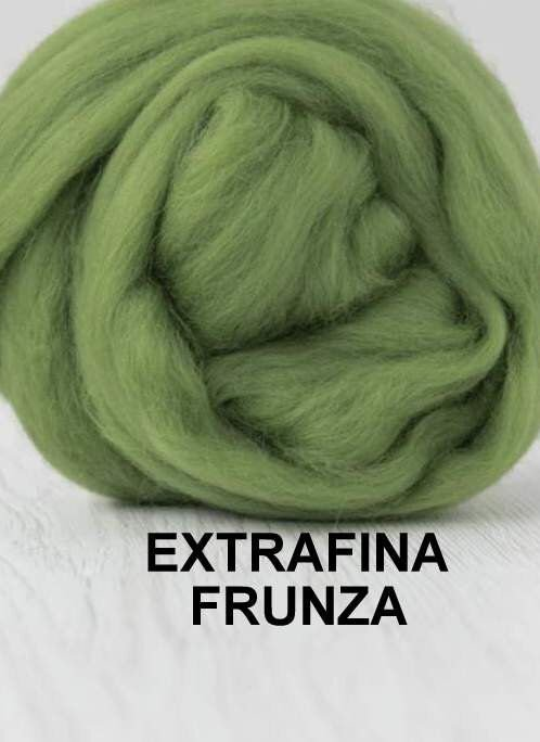 lana extrafina -FRUNZA-50g