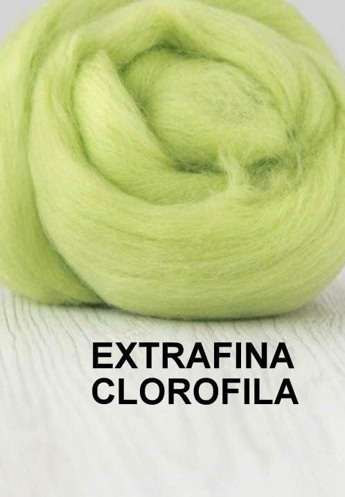 lana extrafina -CLOROFILA-50g