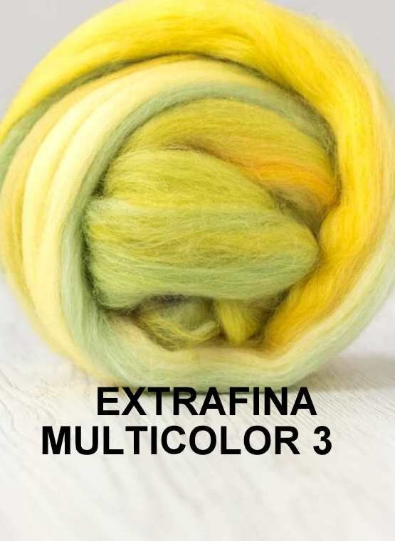 lana extrafina -MUTICOLOR 3-50g