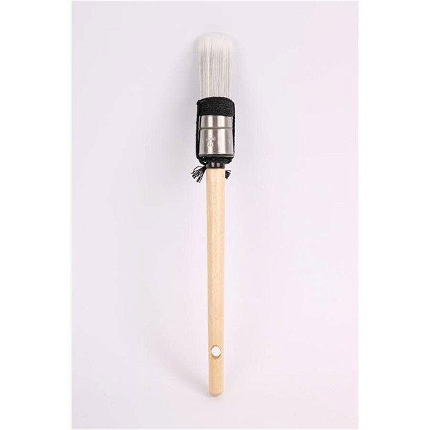 Pensula sintetica rotunda 2 cm latime home deco- 37758