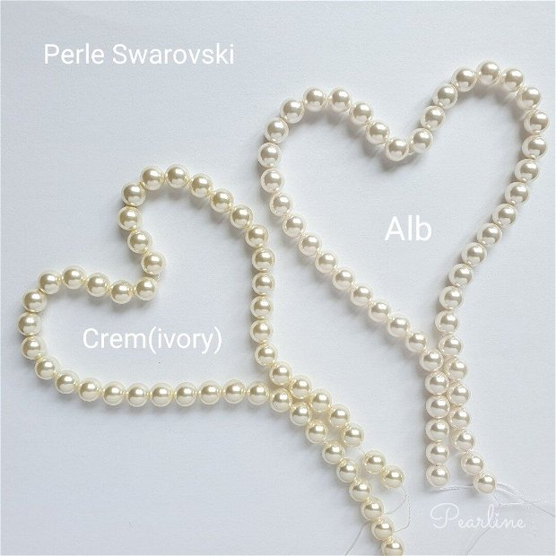 Set cercei Fancy&Pearls si Bratara Swarovski
