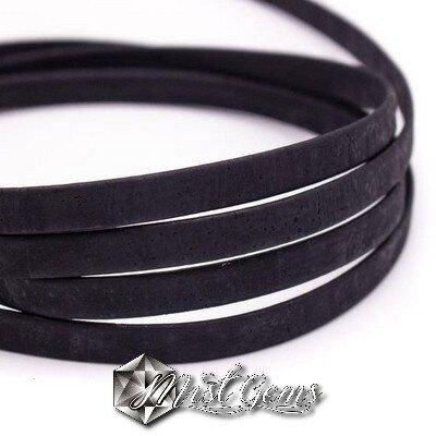 Banda din pluta 10X2mm negru COR039