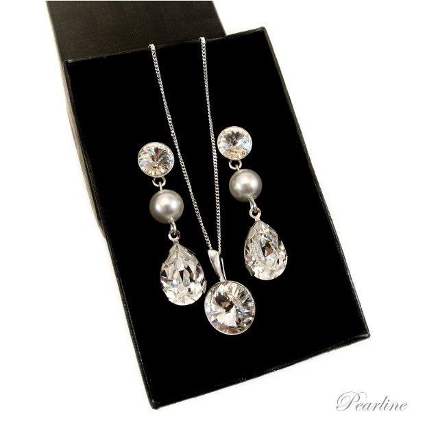 Set bijuterii Fancy & Rivoli Swarovski