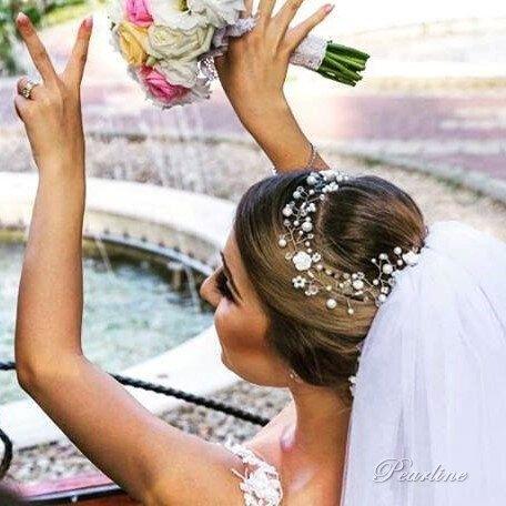 Set mireasa cu flori  Royal Fairy Tale