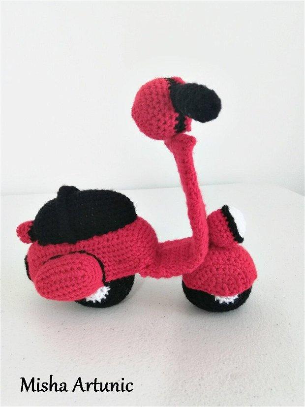 Scooter crosetat - Jucarie/Homedeco