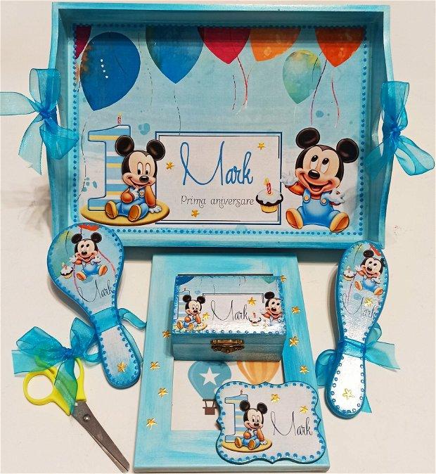 Set mot, format din 6 piese, cu tema Mickey Mouse