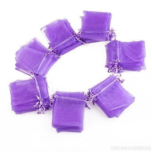 Saculet organtza violet