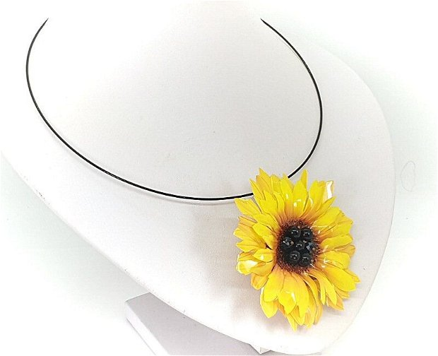 Colier floarea soarelui