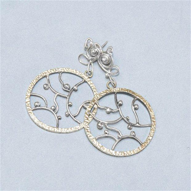 Cercei Argint 925 si Alama
