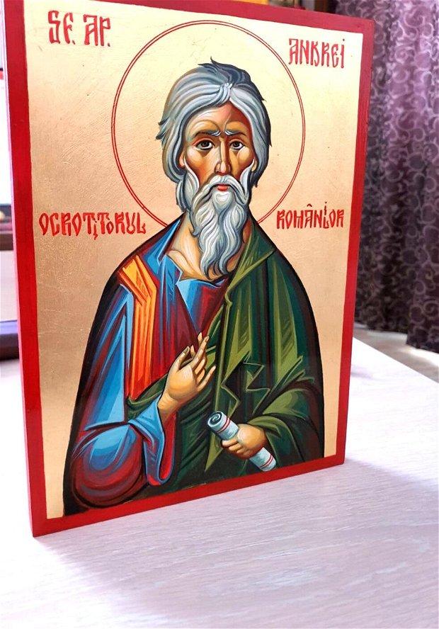Icoana pictata Sf Andrei