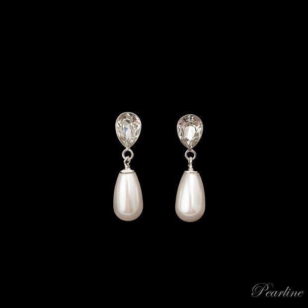 Cercei perle eleganti Fancy Drops Swarovski