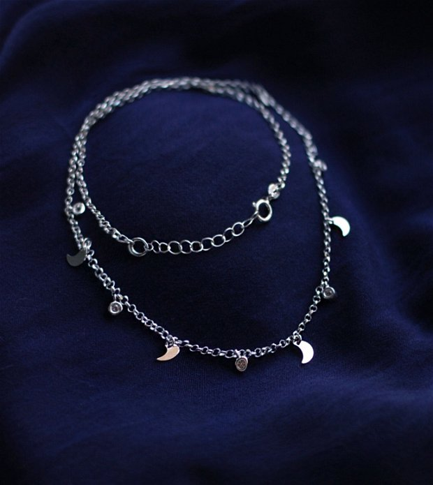 Colier din argint, cadou aniversare / Craciun / 8 martie / Dragobete / Valentine's Day sotie / prietena