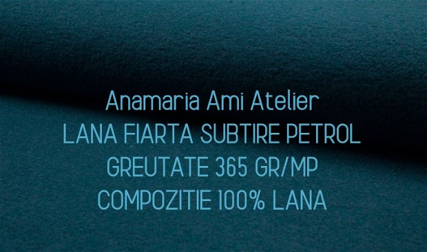 Vesta Lana fiarta PETROL dublata cu jerse de lana gri 100% lana