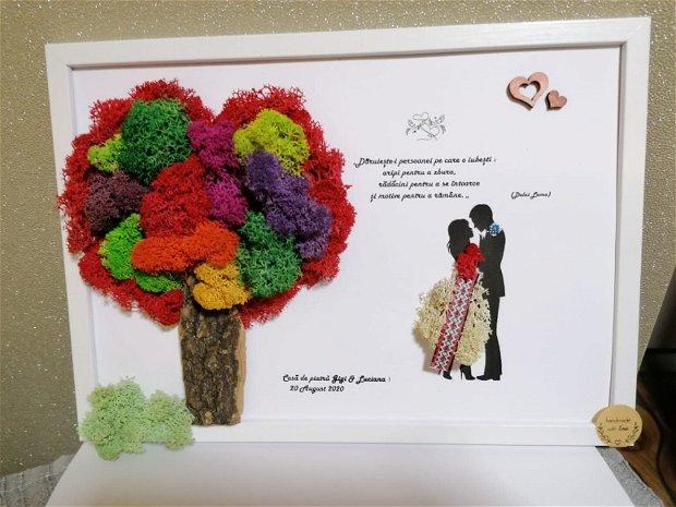 Tablou personalizat casatorie sau aniversare