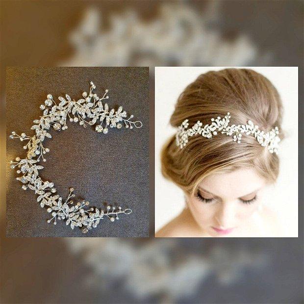 Coronita cristale si perle