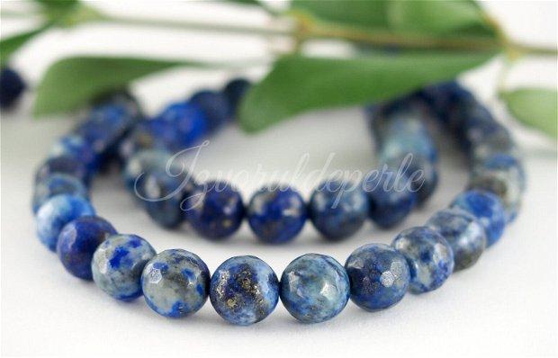 Lapis lazuli fatetat, 8mm (1)