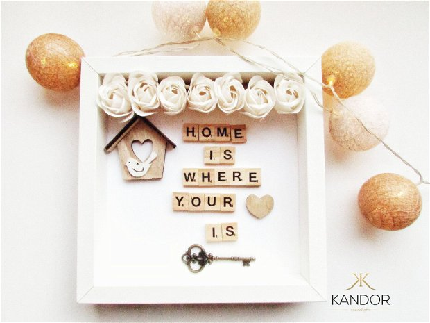 Rama decorativa l Tablou decor l Decoratiune casa,  Kandor Special Gifts