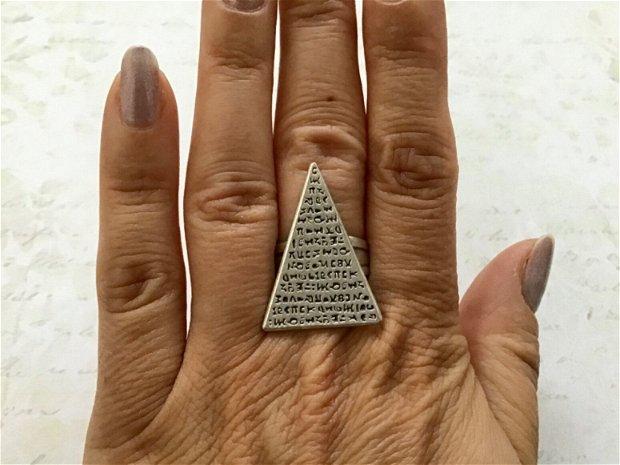 Set zamac argintat