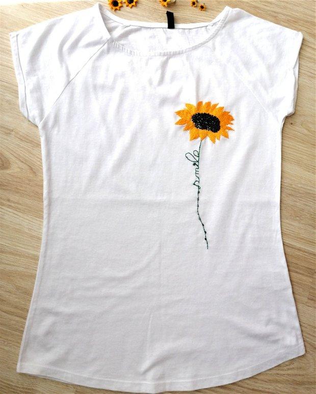 Tricou floarea soarelui-Smile