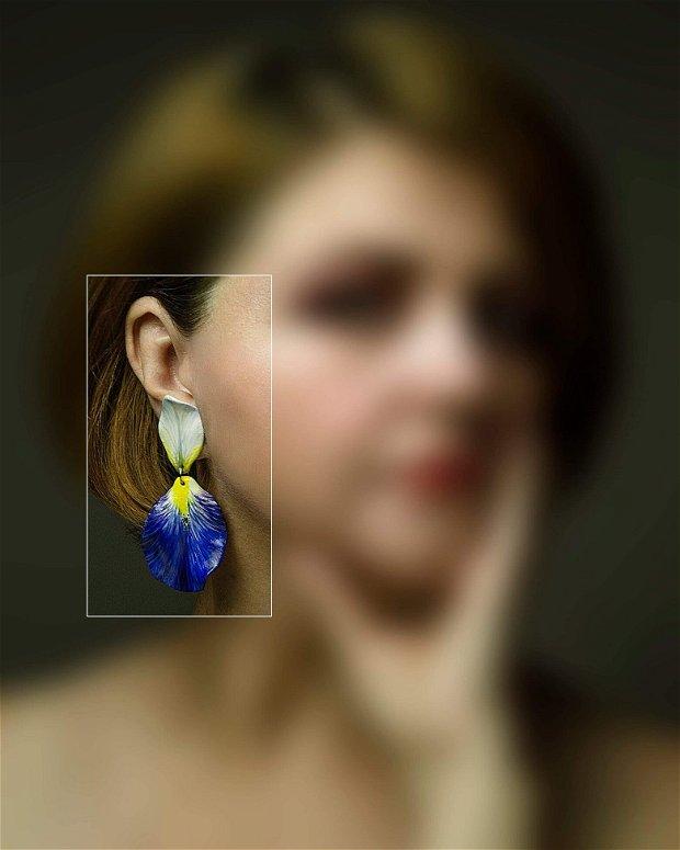 """Cercei """"Blue petal"""""""
