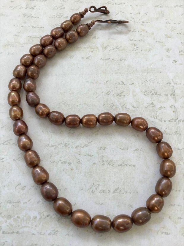 Colier perle de cultura