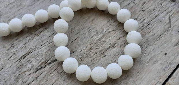 Coral alb poros, 13 mm