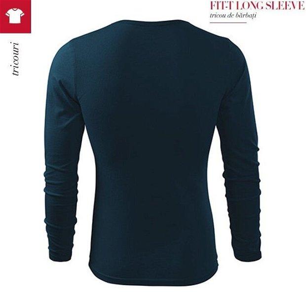 Bluza 3XL cu maneca lunga, FIT-T- Bleumarin