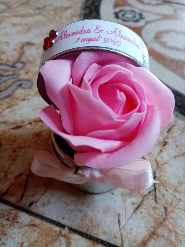 Marturii trandafiri săpun!