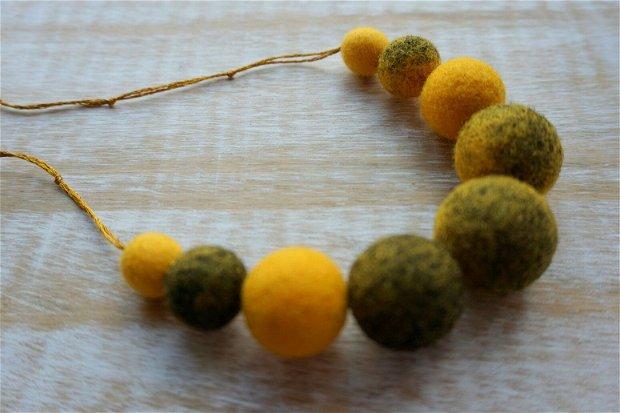 Colier Retro Yellow II