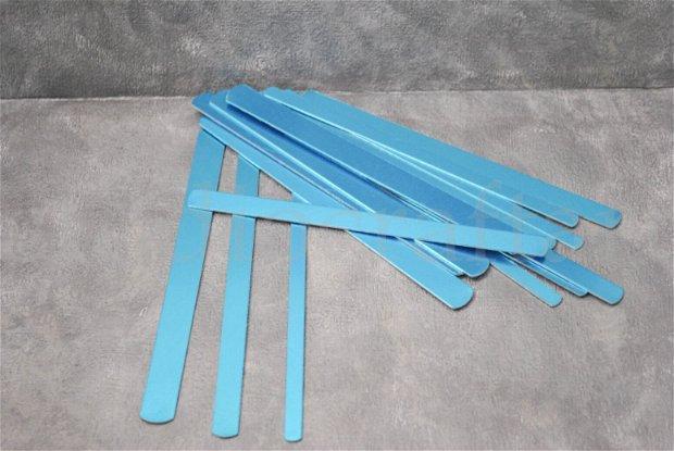 Blankuri aluminiu pentru bratari / inele - 15 buc