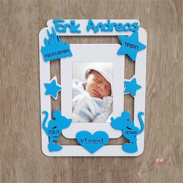 Rama bebelus personalizata 2 in 1, Disney