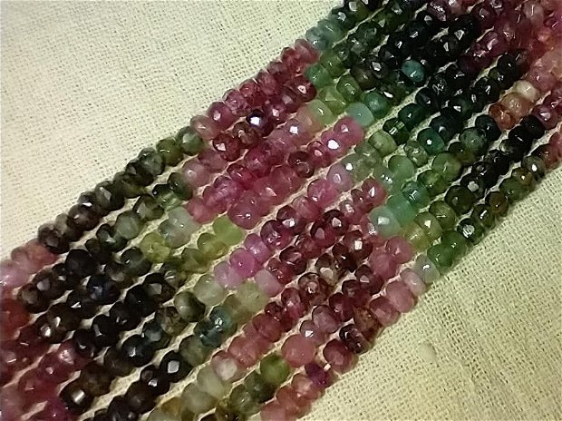 Turmalina multicolor ,grad A, 1 fir,