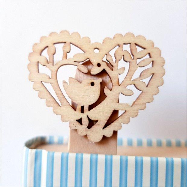 PASĂRE Măiastră- Semn de carte din lemn