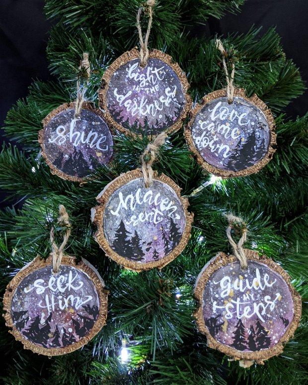 Set de 6 ornamente de Craciun GALAXY