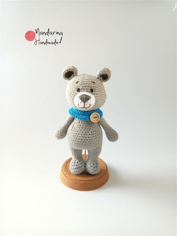 Jucărie croșetată ursuleț