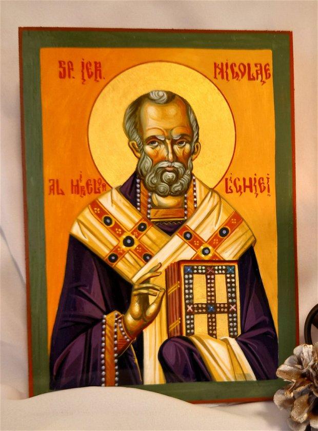 Icoana Sfantul Ierarh Nicolae