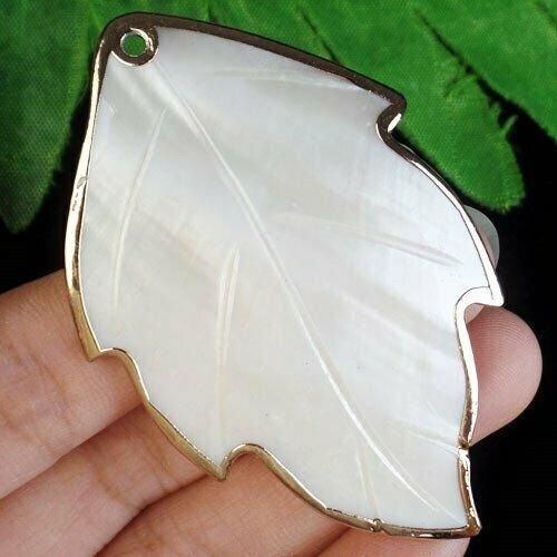 Pandant frunza shell