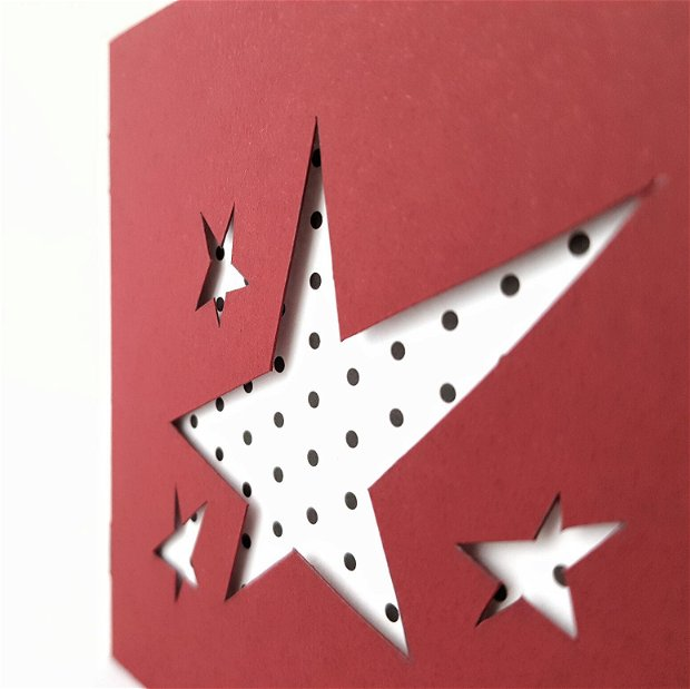 Felicitare stele - limited