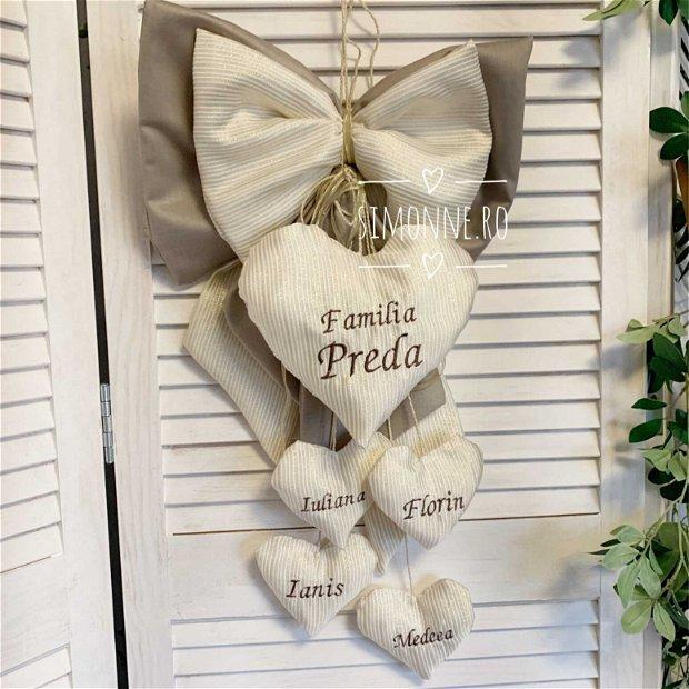 Decoratiune pentru casa, Inima familiei
