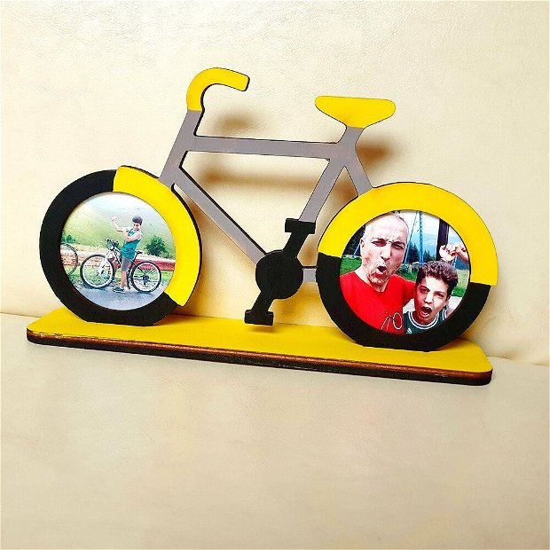 Rama foto personalizata - Bicicleta