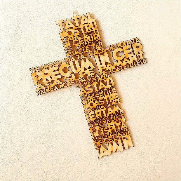 Decor Rugaciune - Tatal Nostru / Crezul