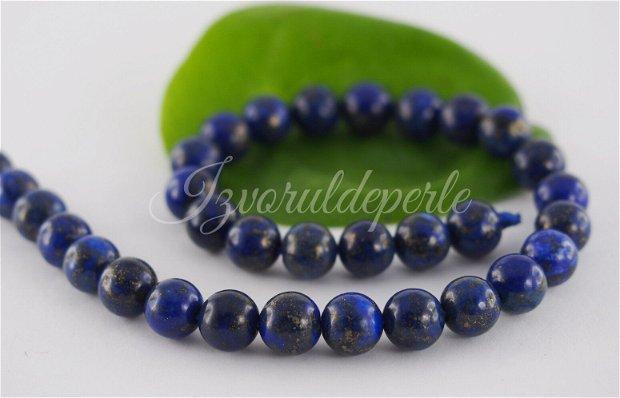 Lapis lazuli 6mm (2)