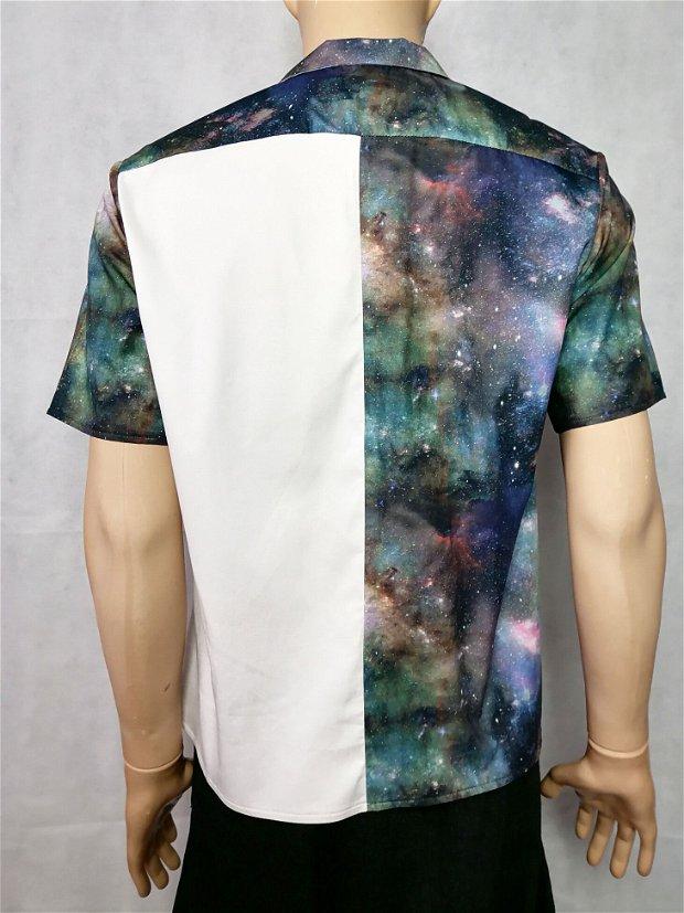 Camasa white galaxy 2