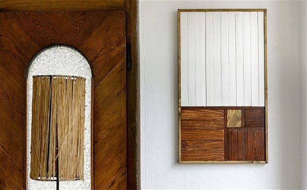 Decorațiune din lemn pentru perete, Tablou lemn
