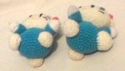 Hello Kitty cu rochita albastru deschis 10 cm