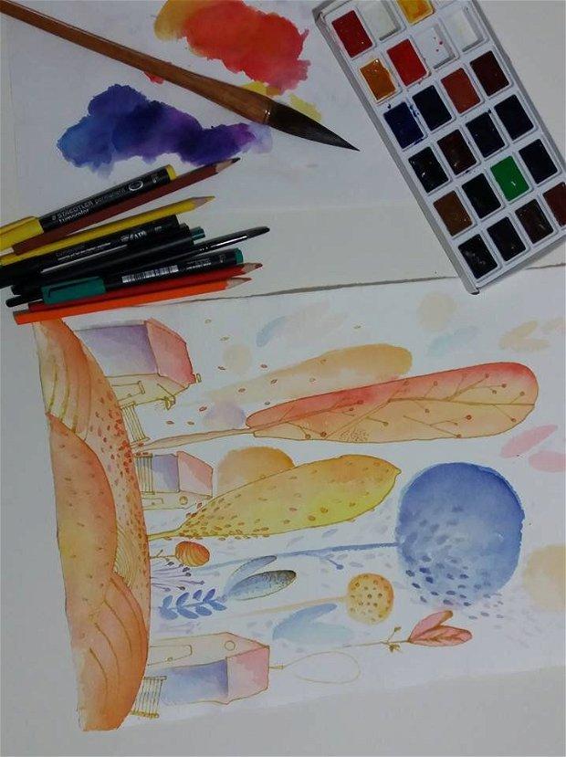 Toamna, Arte Vizuale-Ilustratie