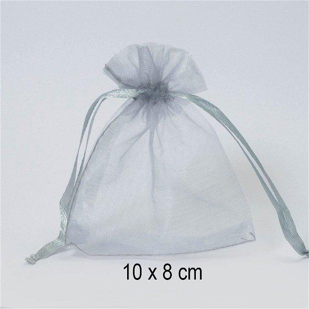 Punguta organza, 10 x 8 cm, Q-39